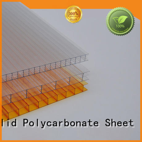 GWX twin wall polycarbonate hollow sheet supplier for Gazebo