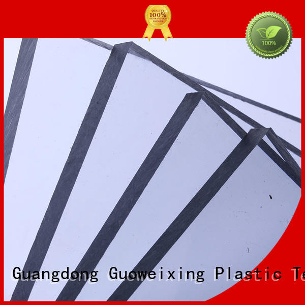 solid polycarbonate roofing thickness hollow GWX Brand