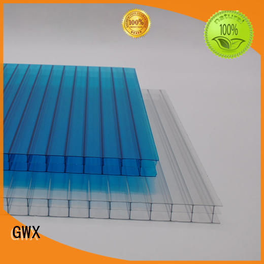 GWX 100% virgin Bayer polycarbonate pc sheet wholesale for skylight