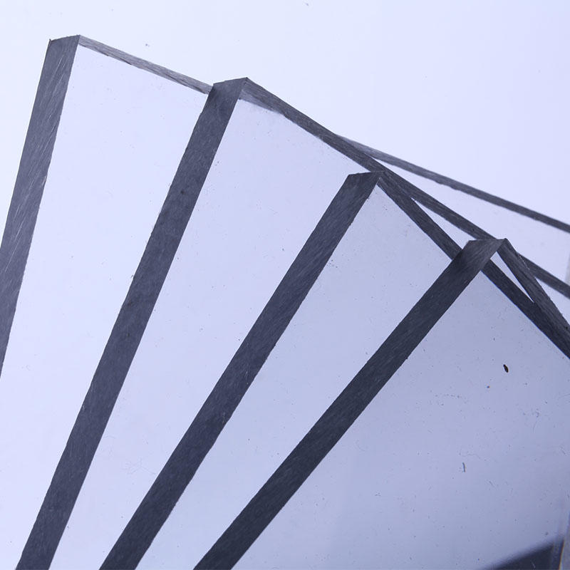 polycarbonate solid sheets 100% virgin new materials 1.22M width with 10 YEARS warranty