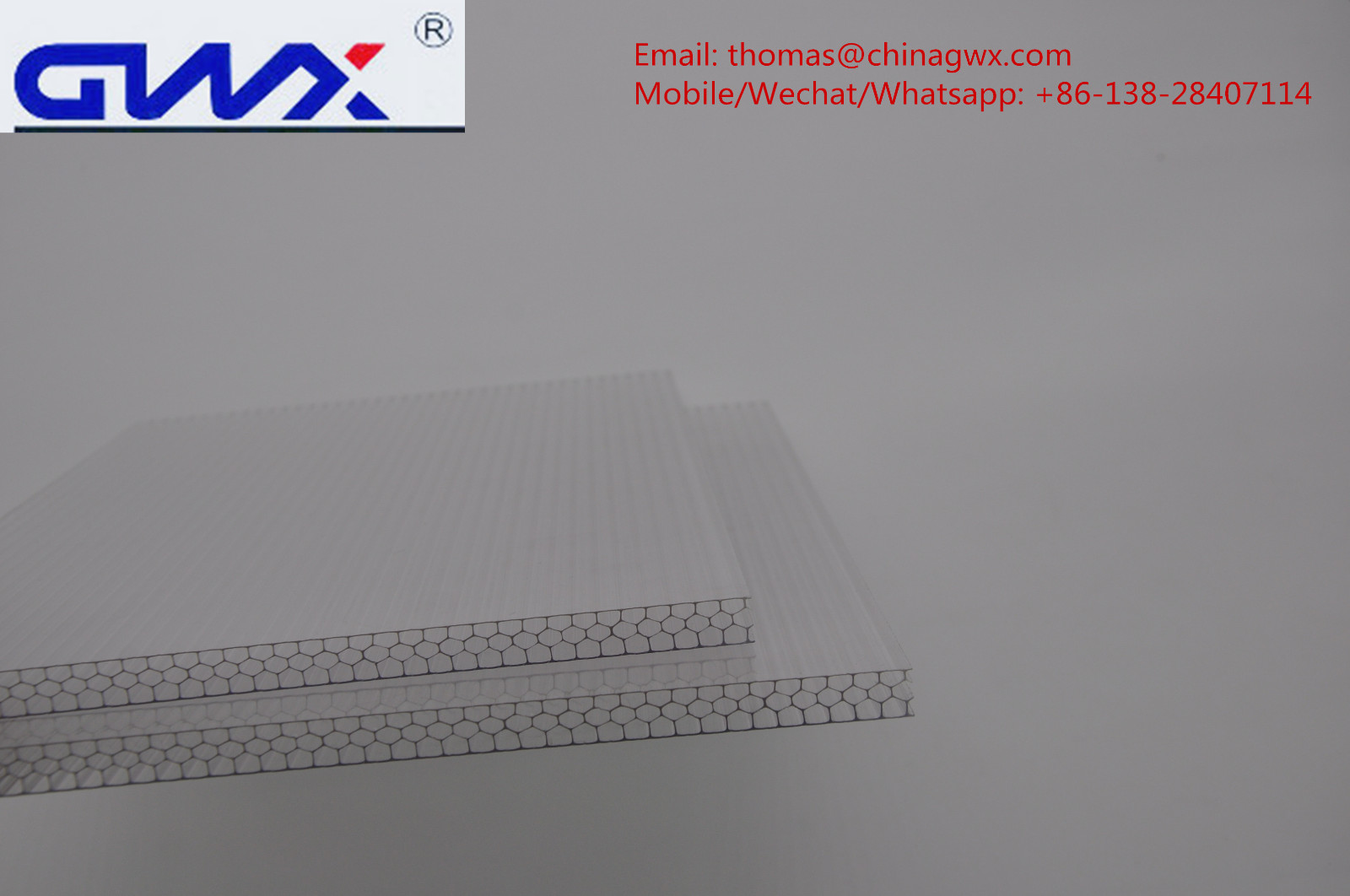 impact-resistant hollow sheet polycarbonate twin wall manufacturer for swimming pool cover-4