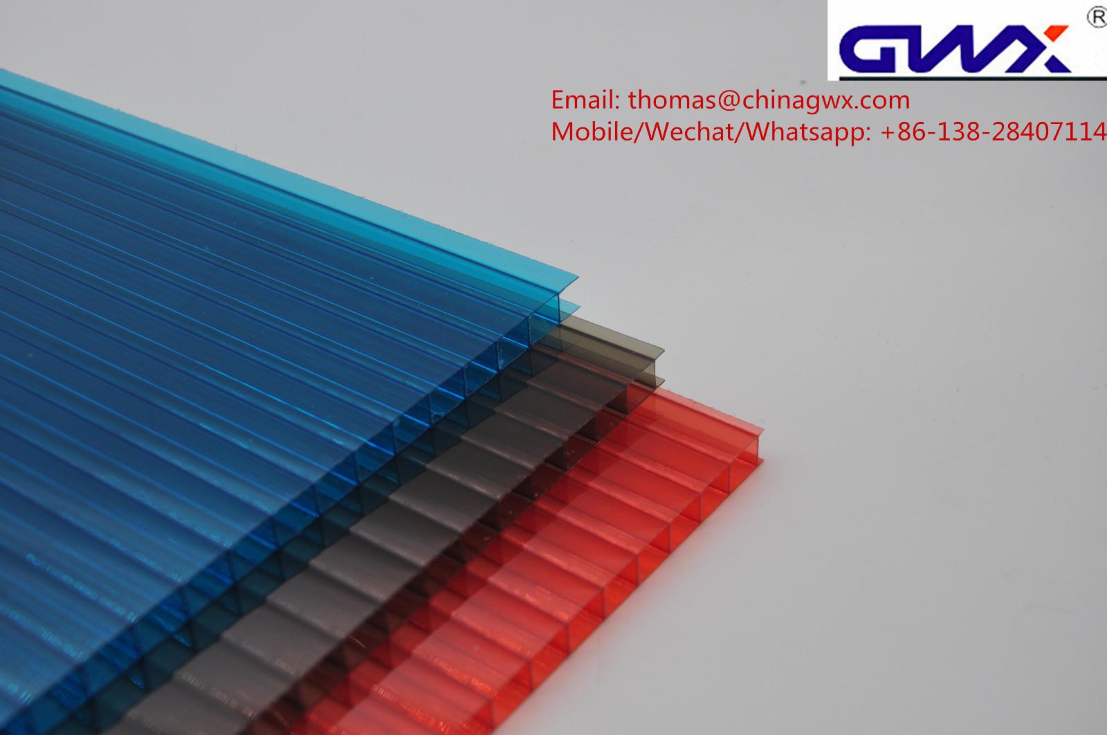 hollow sheet hollow polycarbonate hollow sheet GWX Brand