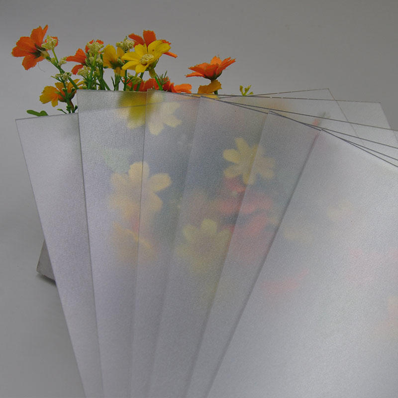 polycarbonate sheets with Impact resistance abrasive surface