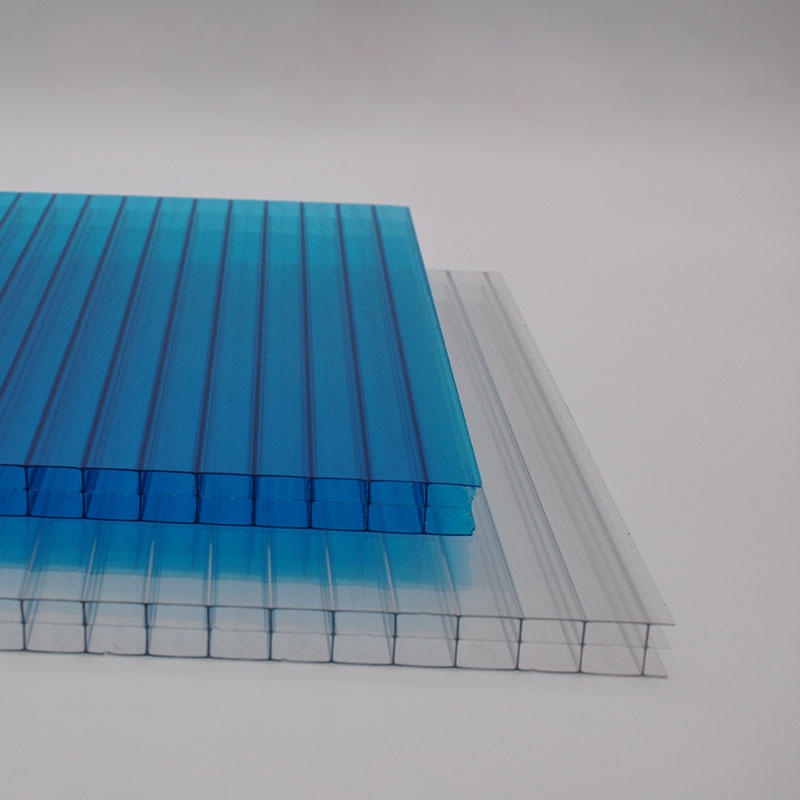 Polycarbonate sheet with twin wall triple wall for swimming pool cover