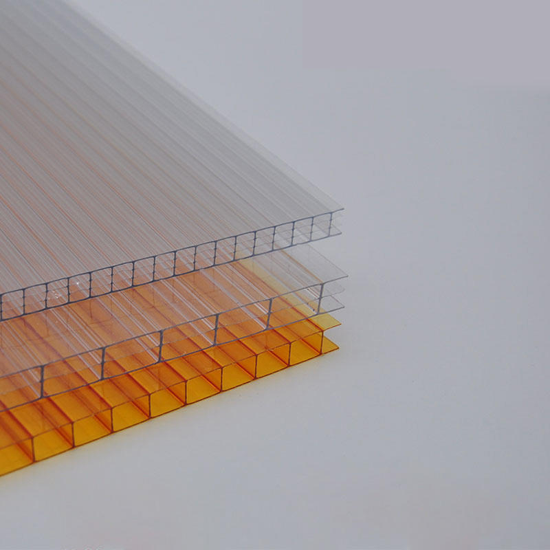 GWX  polycarbonate hollow sheets for Gazebo Carport Balcony Skylight Corridors Canopy