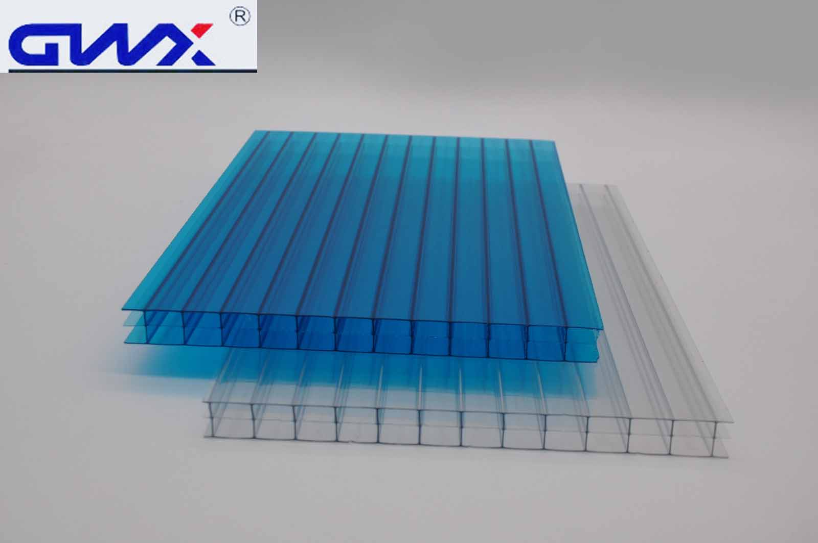 GWX impact-resistant pc multi polycarbonate multiwall sheet cellular for swimming pool cover-4