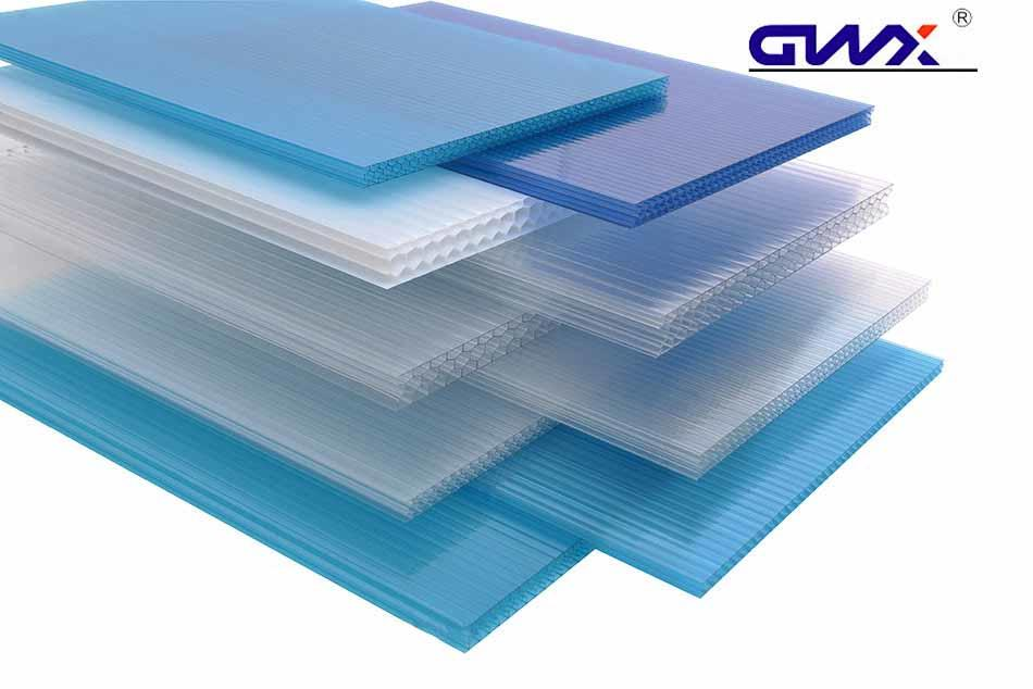 GWX professional polycarbonate hollow sheet wholesale for greenhouse