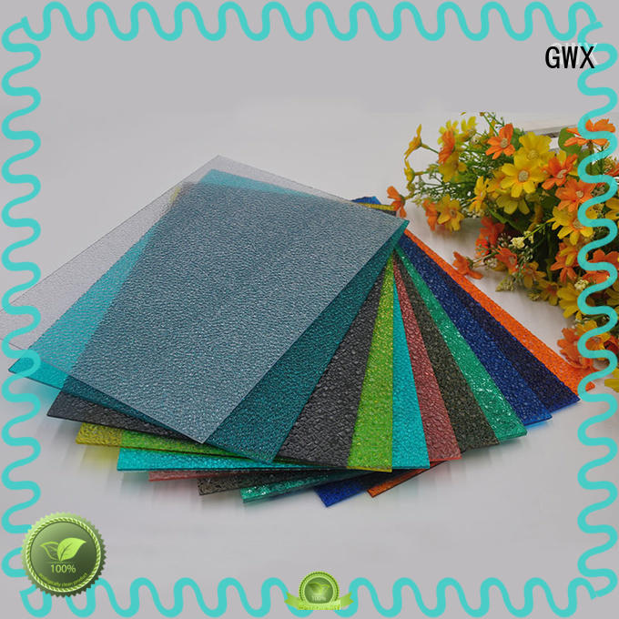 GWX professional plastic embossed sheets factory direct for wall