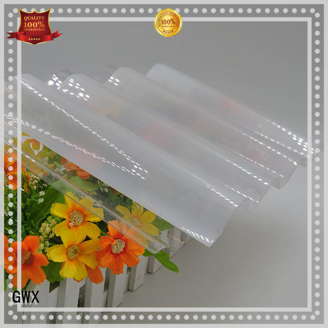 GWX professional polycarbonate corrugated sheet wholesale for greenhouse