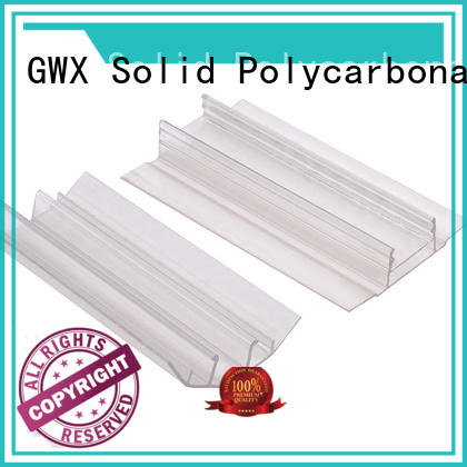 convenient polycarbonate h channel bayer raw material manufacturer for connection