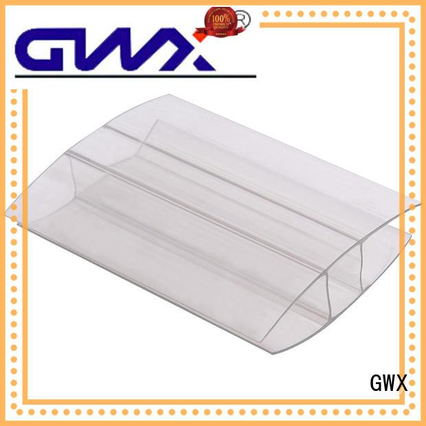 durable polycarbonate u profile L shape factory price for connection