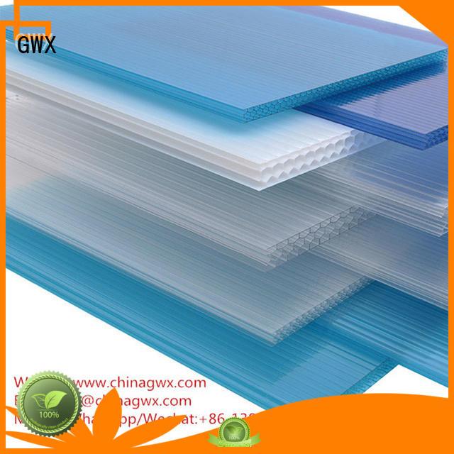 twin carport GWX Brand hollow sheet factory