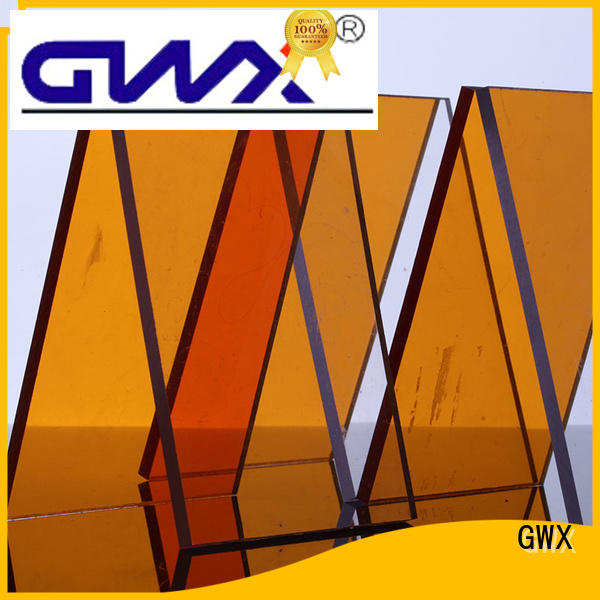 advertising polycarbonate solid sheet sheet GWX company