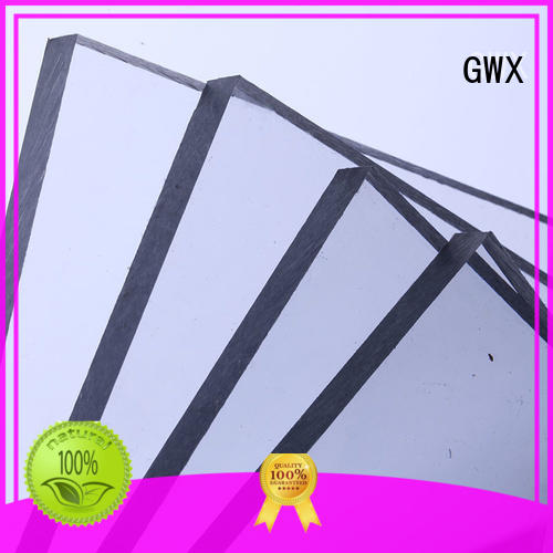 GWX brown lexan polycarbonate solid sheet OEM for swimming pool