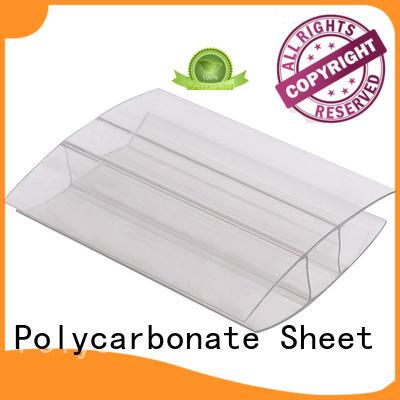 GWX U shape polycarbonate u profile supplier for connection