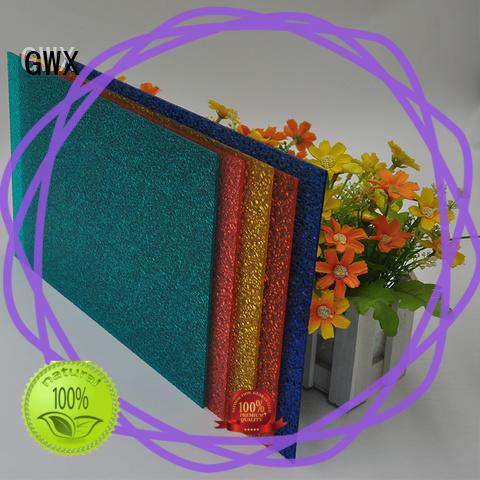 GWX professional pc embossed sheet supplier for door