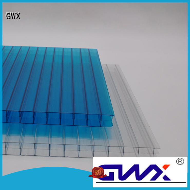 GWX cellular polycarbonate pc sheet factory direct for swimming pool cover