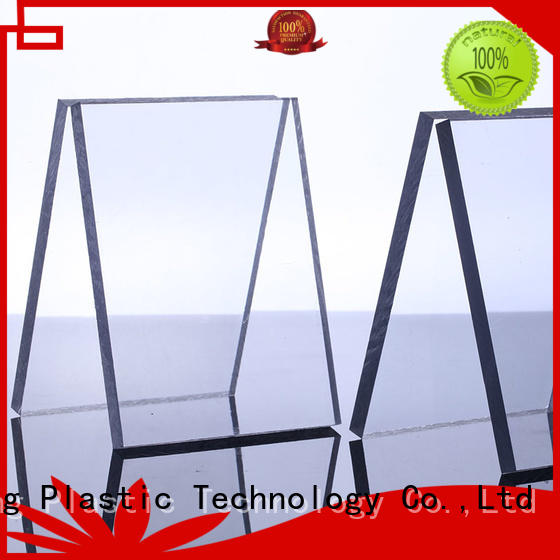 Custom tinted wall polycarbonate solid sheet GWX sun