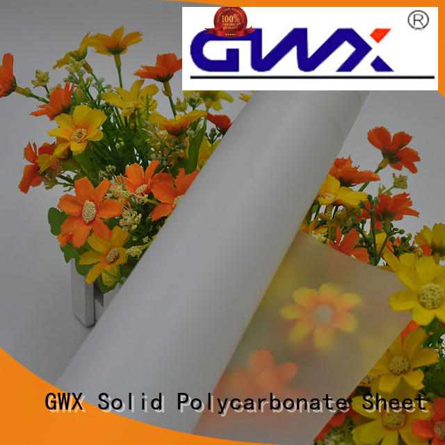healthy makrofol polycarbonate film 100% virgin Bayer factory direct for surface