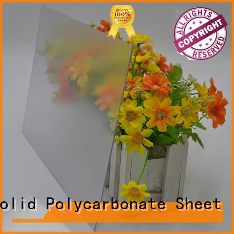 GWX uv protective frosted plastic sheets manufacturer for office partition