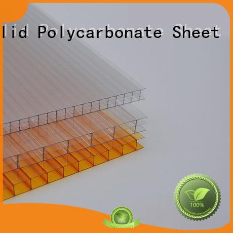 GWX uv protective hollow sheet 100% virgin Bayer for Gazebo