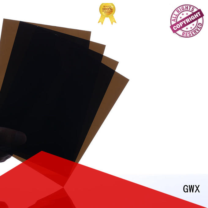 GWX anti-scratch pc sheets manufacturers brown for roofing covering