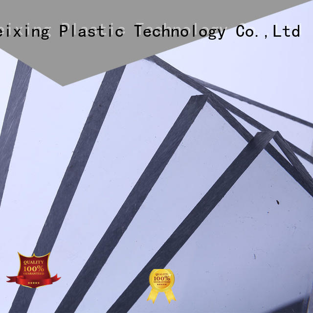 thickness hollow polycarbonate solid sheet virgin sun GWX company
