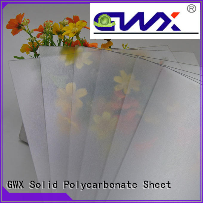 uv protective frosted acrylic sheet anti-scratch wholesale for garden house