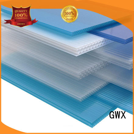 impact-resistant hollow sheet polycarbonate 100% virgin Bayer factory direct for greenhouse