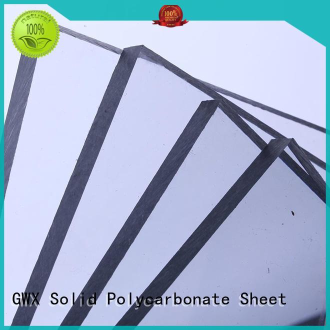 GWX anti-scratch lexan pc sheet manufacturer for swimming pool