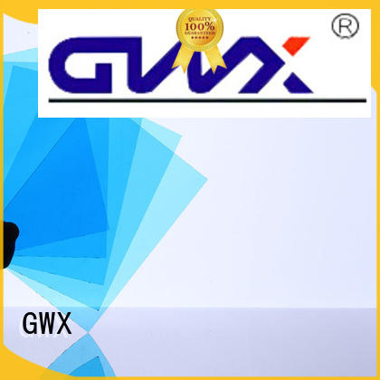 GWX multi-color polycarbonate solid sheet OEM for roofing covering
