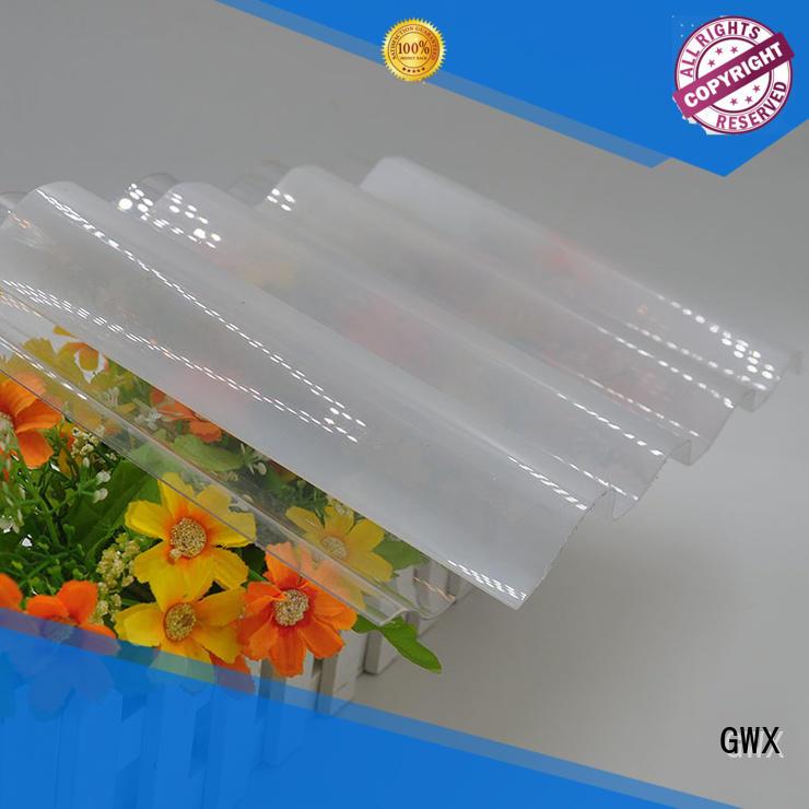 UV coating corrugated polycarbonate panels lexan wholesale for greenhouse