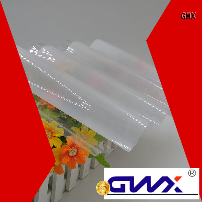 Quality GWX Brand corrugated polycarbonate roofing virgin