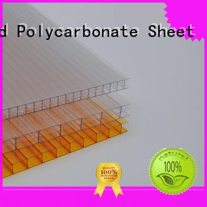 impact-resistant polycarbonate pc sheet cellular factory direct for skylight