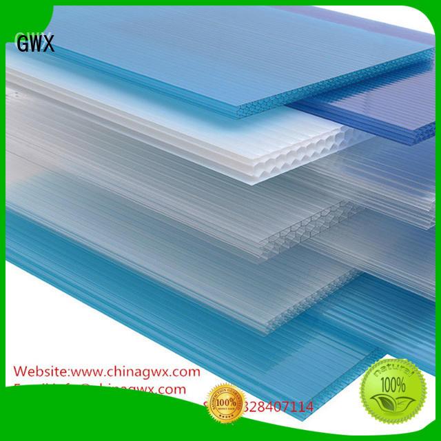 canopy greenhouse polycarbonate hollow sheet balcony GWX Brand company