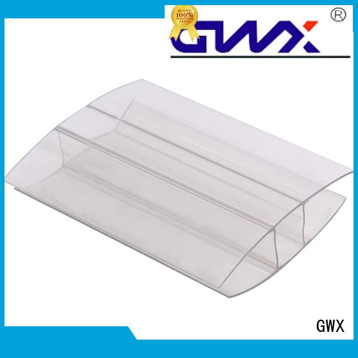 u profile plastic sheets clips polycarbonate Warranty GWX