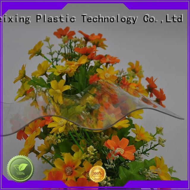 corrugated warranty polycarbonate corrugated sheet GWX Brand
