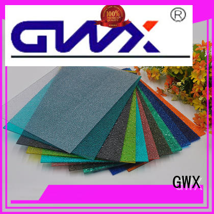 diamond tinted embossed polycarbonate supplier for wall