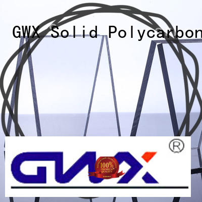 multi wall polycarbonate solid sheet supplier for skylight awning GWX