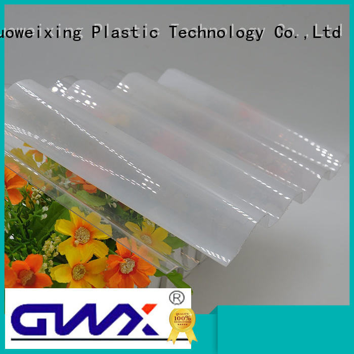corrugated polycarbonate roofing polycarbonate width roofing GWX Brand