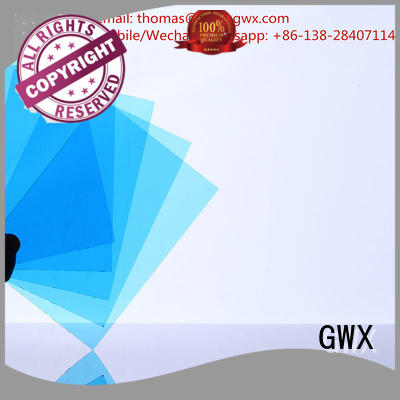 solid polycarbonate roofing sheets polycarbonate solid sheet GWX Brand