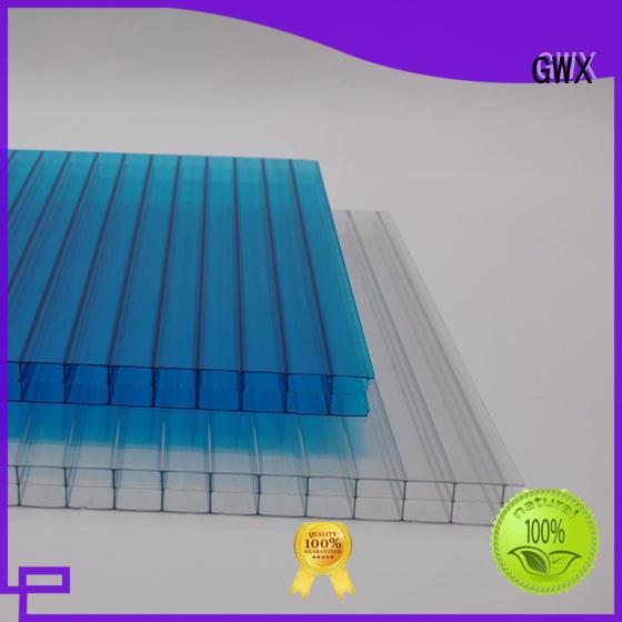 impact-resistant pc hollow sheet 100% virgin Bayer wholesale for carport