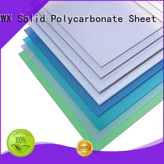 GWX polycarbonate hollow sheet