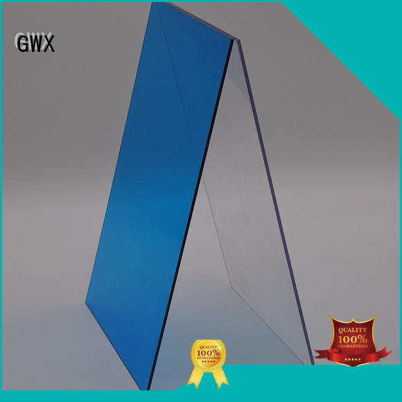 solid brown advertising GWX Brand solid polycarbonate roofing manufacture
