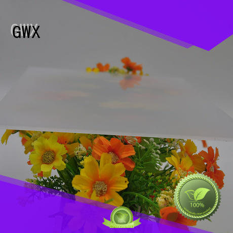 GWX hot selling polycarbonate diffuser sheet wholesale for garden house