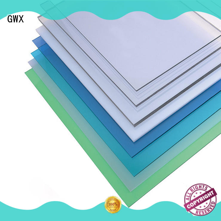 twin wall makrolon uv sheet manufacturer for swimming pool GWX