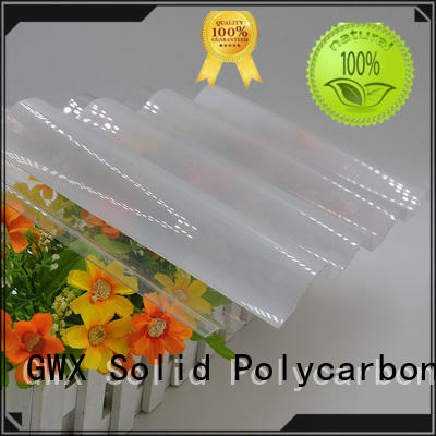 professional corrugated polycarbonate panels 100% new virgin material wholesale for roofing covering