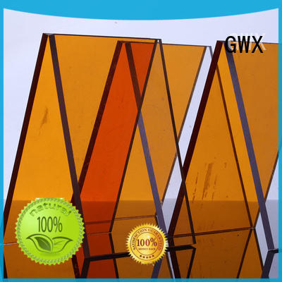 twin wall polycarbonate solid sheet OEM for skylight awning GWX