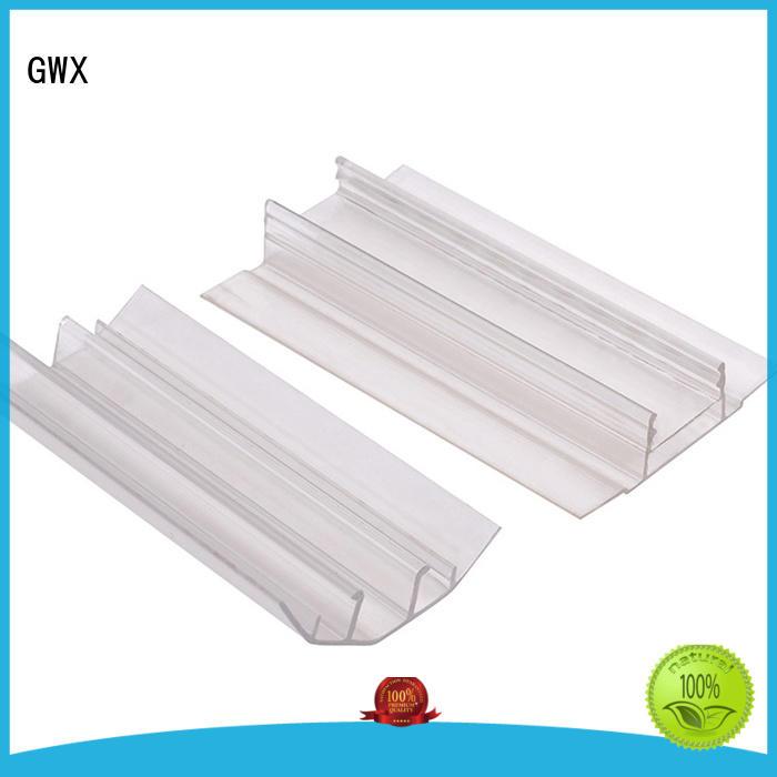 waterproof polycarbonate u profile H shape factory price