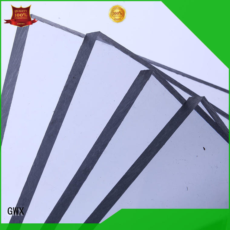 GWX hot selling lexan polycarbonate solid sheet manufacturer for roofing covering